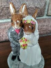 Royal Doulton Wedding Day Bunnykins Db 287 Occasions Collection 2003. No damage