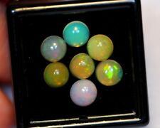 Beautiful Natural Solid Ethiopian Opal - 3,70 cts - 6 mm - 7 Pieces