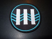JACK WHITE III Logo Iron-On Patch New Third Man Records Stripes Vault lazaretto