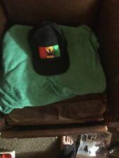 420 Rasta Hat Black with Pot Leaf
