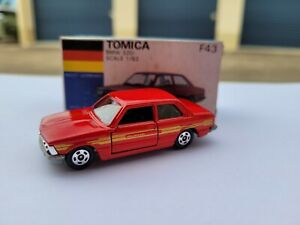 Tomica F43 - BMW 320i [RED] MINT VHTF ALPINA BOX GREAT MADE IN JAPAN