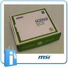 Plaque base Mini ITX miTX MSI N3050i ECO intel Celeron n3050 avec Accessoires