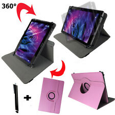 10 zoll Tablet Tasche -  Asus Transformer Pad TF700 Hülle Etui - 360° Rosa 10