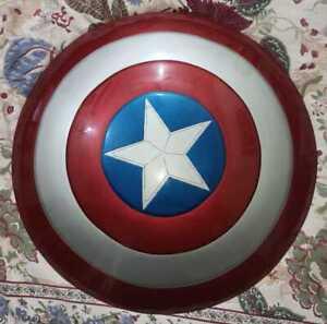Avenger Captain America Shield 24 inches full metal cosplay Avengers Marvels