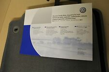 VW GOLF PLUS ONLY front carpet mats in grey 5M2061225E RYK New genuine VW part