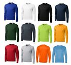 MEN'S MOISTURE WICKING Dri fit Long Sleeve SPORT-TEK T-shirt NEW XS-4XL ST350LS