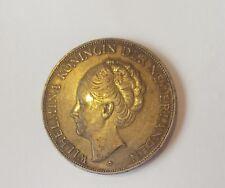 2 1/2 Gulden 1938 Wilhelmina Königin der Niederlanden