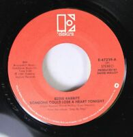 Country 45 Eddie Rabbitt - Someone Could Lose A Heart Tonight / Nobody Loves Me