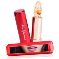 Kailijumei Transparent Blumengelee Lippenstift Temperatur Farbwechsel +box
