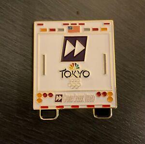 Tokyo 2020 NBC back of truck huge  media pin