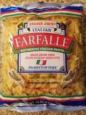 New listing Trader Joe'S Italian Farfalle Authentic Italian Pasta Net 16 Oz Exp: 11Dec2022
