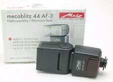 Metz Mecablitz 44 AF-3 For Canon EOS. Unused. Box. Manual.