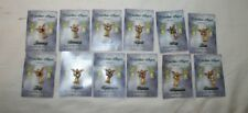 1 Each of All 12 Month Birthstone Guardian Angel Pins Miracles Gold 12
