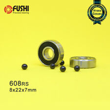 608 Hybrid Ceramic Bearing 8*22*7 mm ( 2 Pcs ) Bicycle Bottom Brackets & Spares