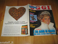 OGGI 1991/27=LADY DIANA=LILLI GRUBER=GLORIA GUIDA=MARINA RIPA DI MEANA=TOGNAZZI