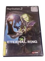 Sony Playstation 2 PS2 Eternal Ring Disc and Case
