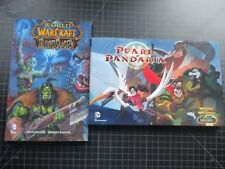 DC WORLD OF WARCRAFT PEARL OF PANDARIA HC W/DJ & BLOODSWORD TPB NEW UNREAD