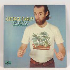 GEORGE CARLIN TOLEDO WINDOW BOX LP LITTLE DAVID  1974  VINYL RECORD VG+