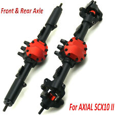 CNC Alloy Front + Rear Axle Set For 1:10 AXIAL SCX10 II AX90046 RC Crawler Cars