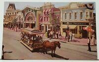 DISNEYLAND Upjohn Pharmacy of the 1880s Main Street Vintage Unused Postcard I19