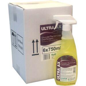 Clover Ultra AX - Virucidal Cleaner 6x750ml EN14476