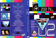 "DVD - U2 - ZOO TV TOUR LIVE IN SYDNEY AUSTRALIA (SPECIAL ""U2"" COLLECTORS) NM"