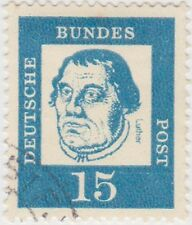 (G526) 1961 GERMAN 15pf blue famous Germans ow1265a