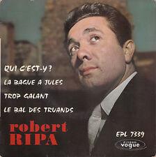 "45 T  EP ROBERT RIPA ""LE BAL DES TRUANDS"""
