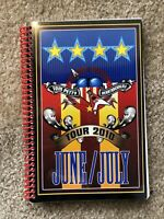 TOM PETTY AND THE HEARTBREAKERS *2010 TOUR ITINERARY* UNTOUCHED MINT