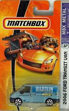 MATCHBOX Ford transit Bilstein Shocks Long USA card mint