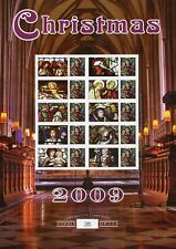 2009 Christmas Benham Limited Edition Commemorative Stamp Sheet.