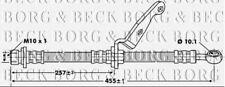 BBH6783 BORG & BECK BRAKE HOSE FRONT LH fits Honda CR-V 97-02 NEW O.E SPEC!