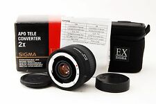 MINT in Box Sigma APO 2X TELE CONVERTER EX DG for Nikon from Japan #181445