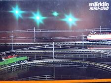 Märklin Z miniclub 8198; Oberleitungs-Set O/S+E,in OVP /E728