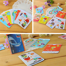 6pcs Credit Card Sleeve Protector Shield WaterProof Case Shield Envelope Cute