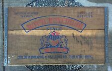 ANTIQUE ROYAL BOHEMIAN BEER DULUTH BREWING & MALTING CO DULUTH MINN WOODEN BOX