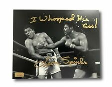Leon Spinks Signed 8x10 Photo Inscribed Whooped Ali's A**! Michael 8x Muhammad