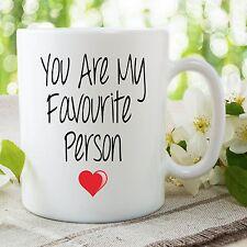 You Are My Favourite Person Mug Grey's Anatomy Boyfriend Girlfriend WSDMUG673