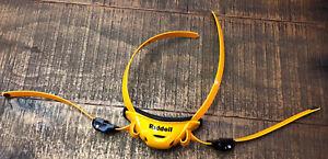 New Riddell SpeedFlex Yellow /Gold Medium Hard Cup Chin Strap