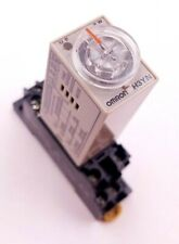 Omron H3YN-2 Timer Time Relay 5A  0.1s-10min Socket Base PYF08A-E 250VAC