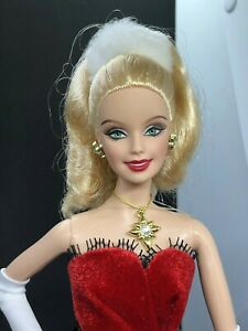 2007 Holiday Barbie Doll Blonde Christmas Model Muse Body for OOAK Repaint