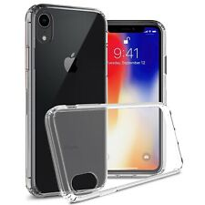 Clear Slim Fit TPU Bumpers Hard Back Cover Phone Case for Apple iPhone XR