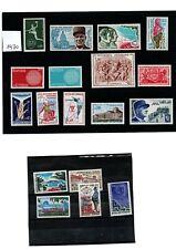 FRANKRIJK 18 postfrisse postzegels van het jaar 1970