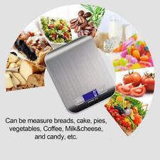 Slim Electronic Scale Kitchen Digital Kitchen Food Diet Scale 5kg / 1g USA
