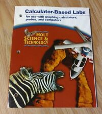 Holt Science and Technology : Calculator for Biological Science Labs by Rinehart