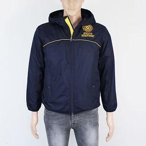 GAP Boys Size 13 yrs Mens XS Blue Showerproof Fleece Lined Jacket
