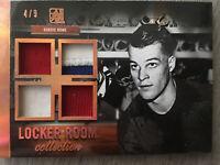 Gordie Howe 2017 Locker room Collection #4/9