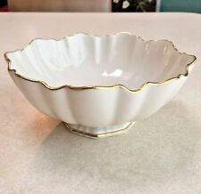 Beautiful Lenox candy/nut bowl with 24K gold accents