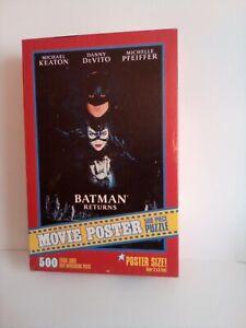 Batman Returns Movie Poster 500 Piece Jigsaw Puzzle Sealed 2x3 Feet R14082 Jumbo