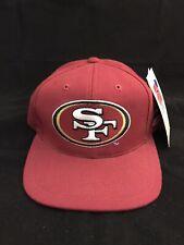 VTG 90's SF San Francisco 49ers Sports Specialties Pro Line Snapback Hat Cap New